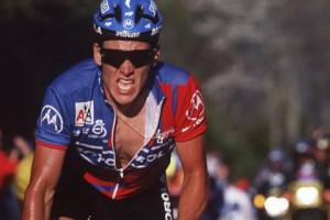 Greg Lemond in Oakleys 1991